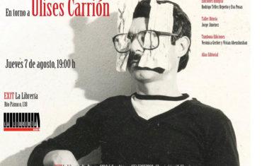 """Alias en """"En torno a Ulises Carrión"""""""