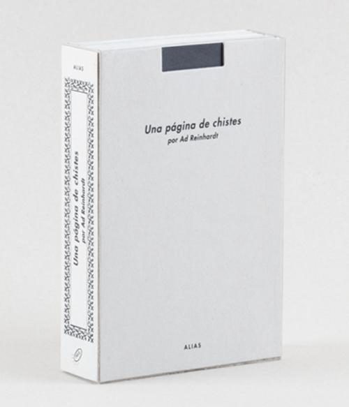 12 Una página de chistes, de Ad Reinhardt, José Luis Sánchez Rul (tr).