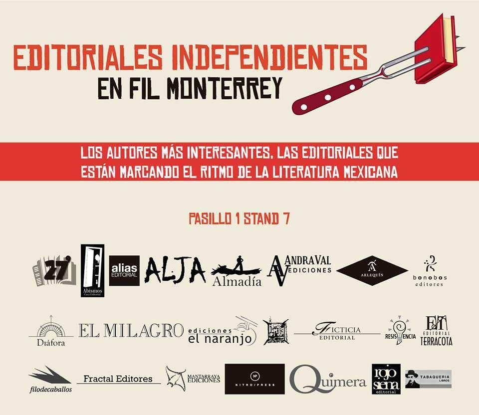 Alias en la FIL de Monterrey