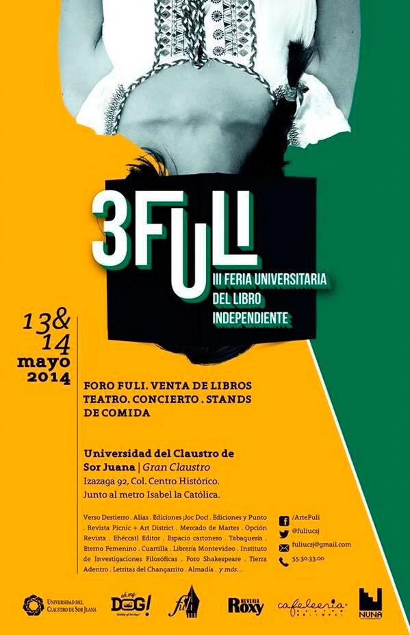 Alias en la III Feria Universitaria del Libro Independiente