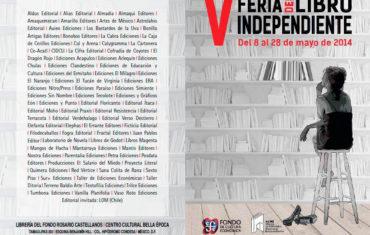 Alias en la V Feria del Libro Independiente 2014
