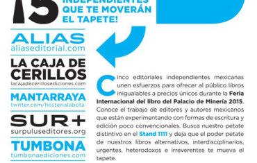 PODER PETATE: ¡5 editoriales independientes que te moverán el tapete!