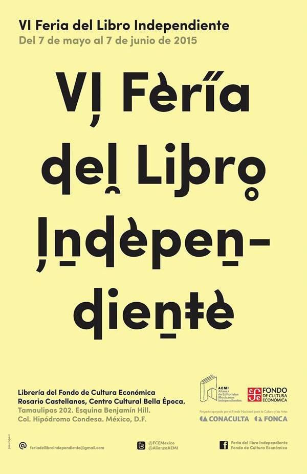 Alias en la VI Feria del Libro Independiente