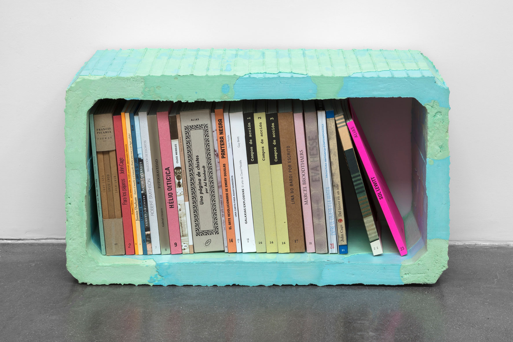 Alias: libreros conmemorativos